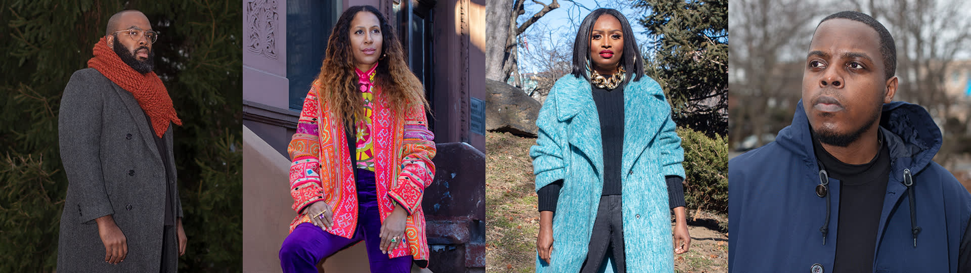 Love Letter subjects in their neighborhoods in New York City, the black experience in NYC