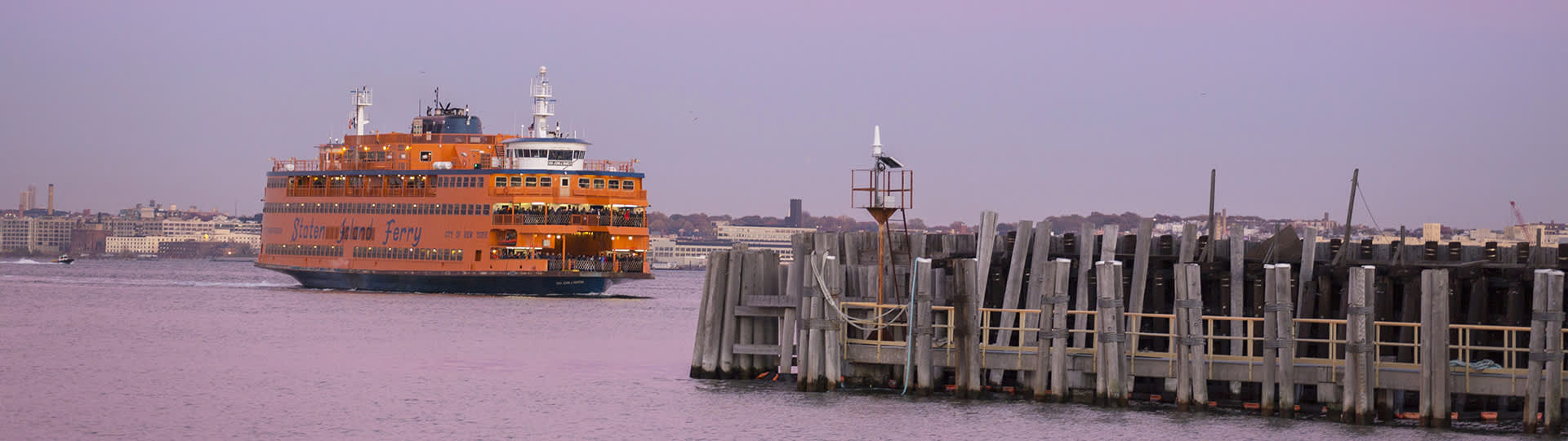Staten Island Ferry, St George, Staten Island,