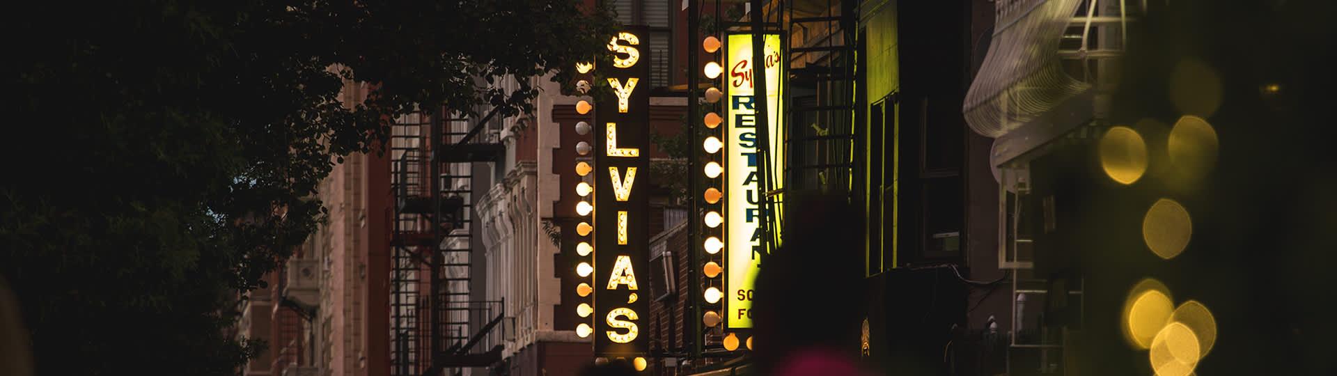 Harlem, NYC, Sylvia's, Restaurants in Harlem, Sylvia's 'Soul Food' Restaurant