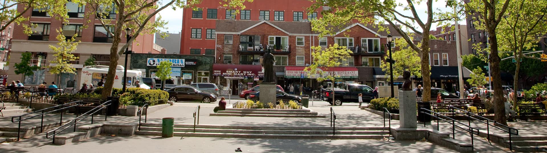 Parque de Atenas Square, Astoria, Queens