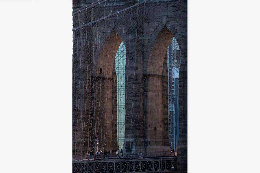 Brooklyn Bridge, Brooklyn, NYC, Julienne Scaher