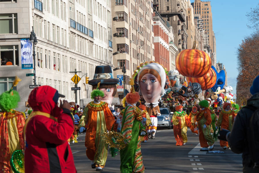 Macy's Thanksgiving day parade nyc
