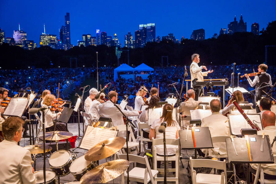 Philharmonic Park nyc