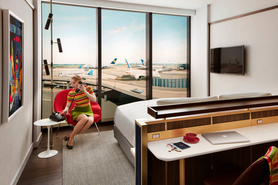 TWA Hotel, JFK, Queens, NYC,