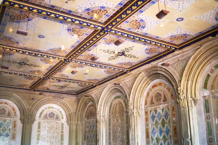 Minton Tiles, Central Park