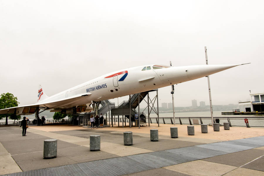 Concorde, Intrepid