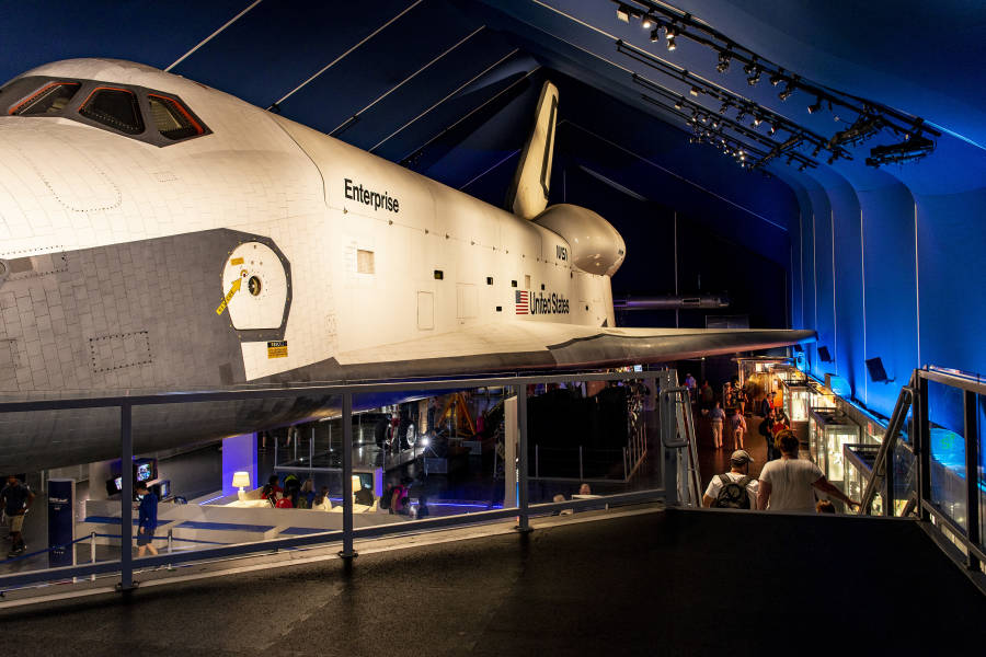 Space Shuttle Pavilion, Intrepid Museum, Manhattan, NYC, Brittany Petronella,