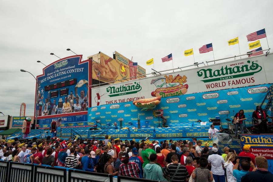 Nathan's Hotdog Eating Contest, Coney Island