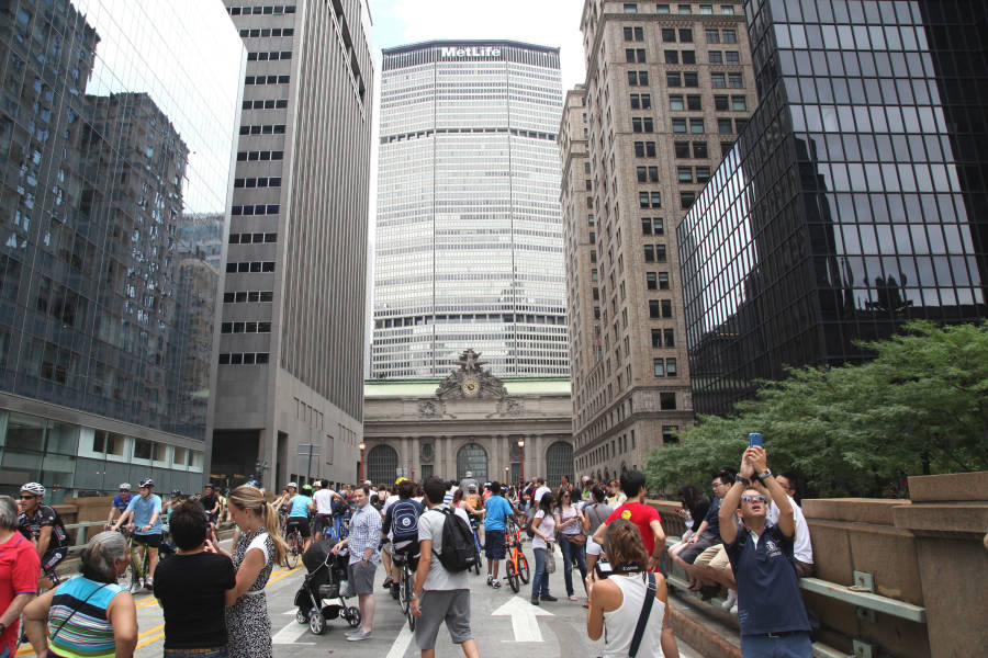 Summer Streets, Midtown, NYC