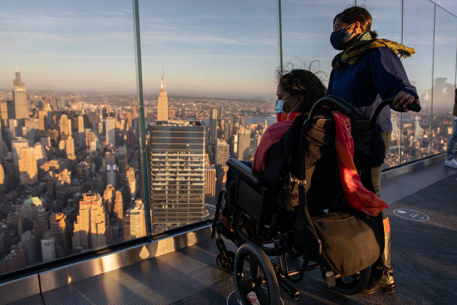 Accessible NYC, Edge in Hudson Yards, Manhattan, NYC