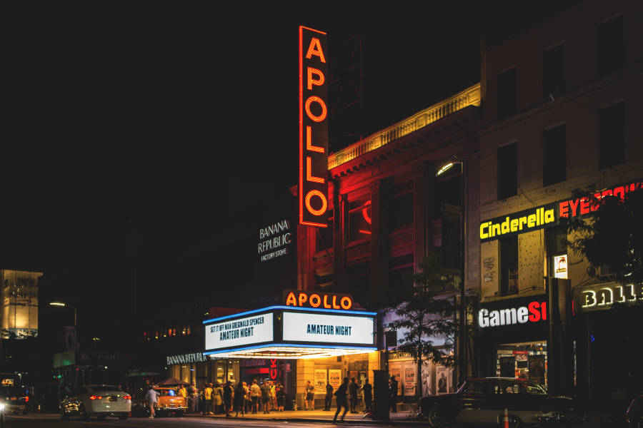 Apollo Theater, Harlem, Black History Month Events