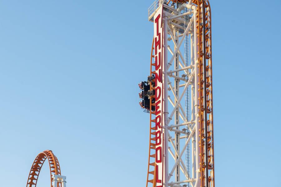 Coney Island Roller Coaster, Coney Island, Roller Coaster, NYC Roller Coaster, Coney Island Thunderbolt, Thunderbolt,