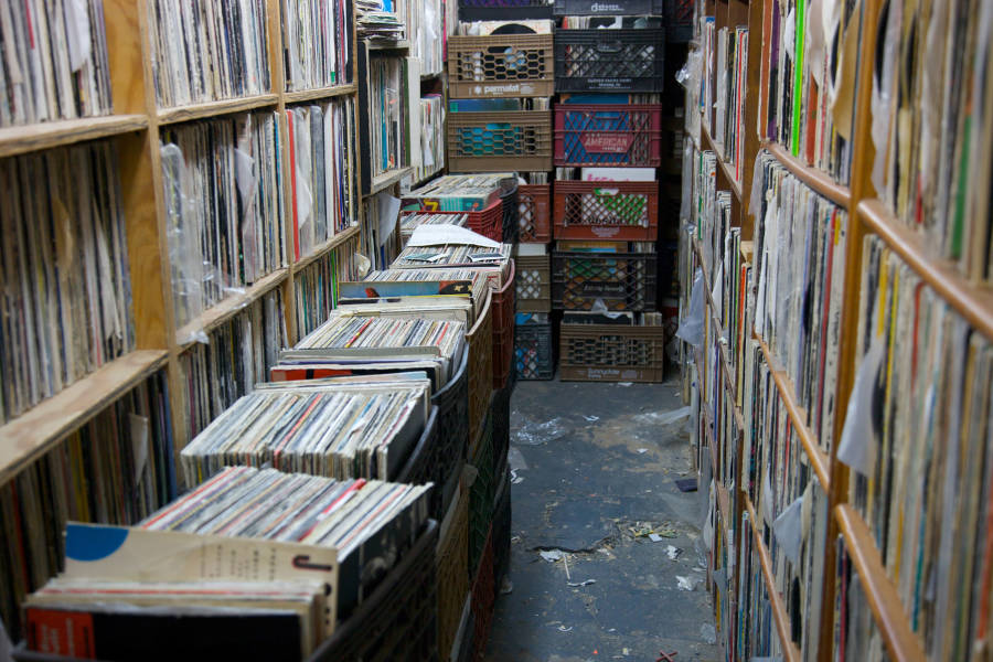 the thing, vinyl, music, records, shopping
