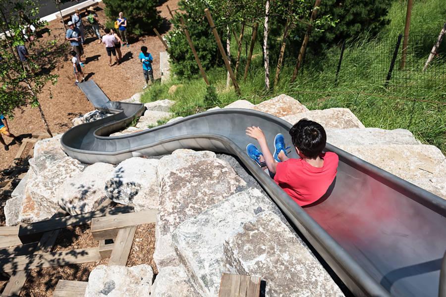 Slide, Governors Island, NYC, NYC Island, Kids Slide, Play Park, Island Park