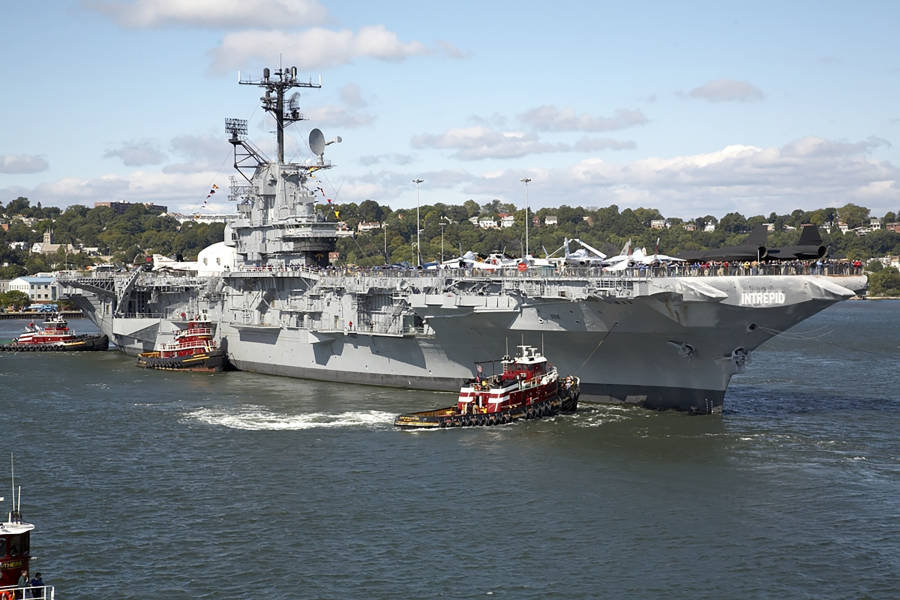 Intrepid, Boat, Submarine, Museum, aircrafts, war,