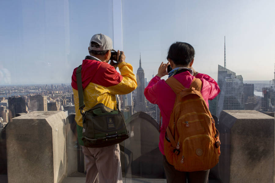 Rockefeller Center, Top of the Rock, Views of NYC, NYC Skyline
