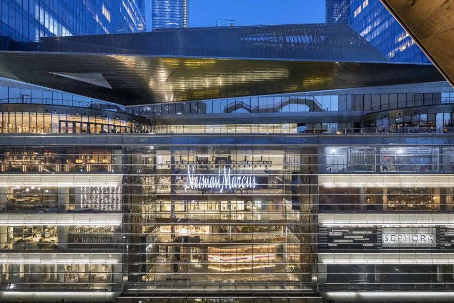 Visit Neiman Marcus for Hudson Yards Shopping