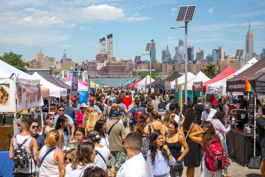 Smorgasburg, Brooklyn,