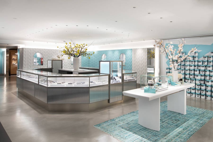 Tiffany & Co, Flagship shopping