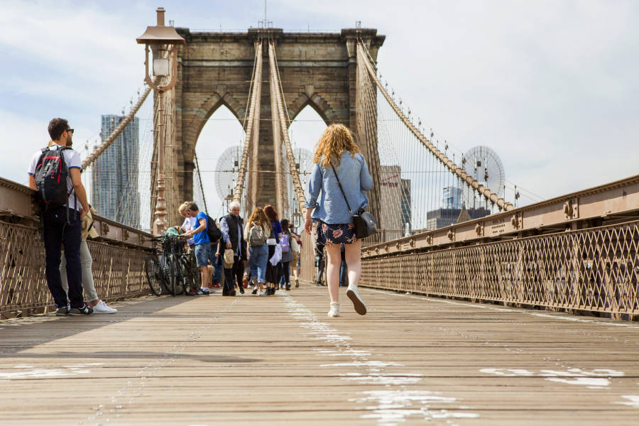 Brooklyn Bridge, Bridge, Brooklyn, NYC, Brittany Petronella,