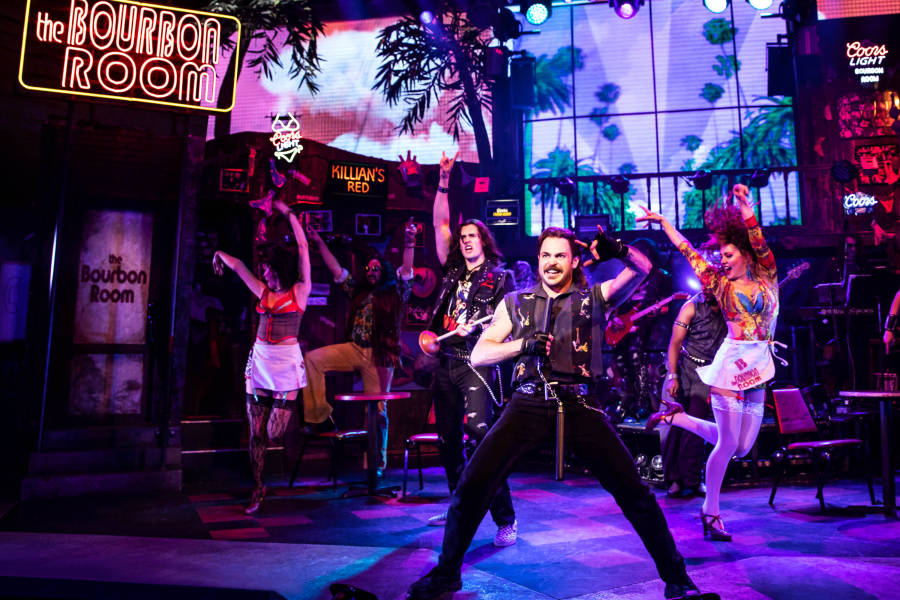 Rock of Ages, Off Broadway,
