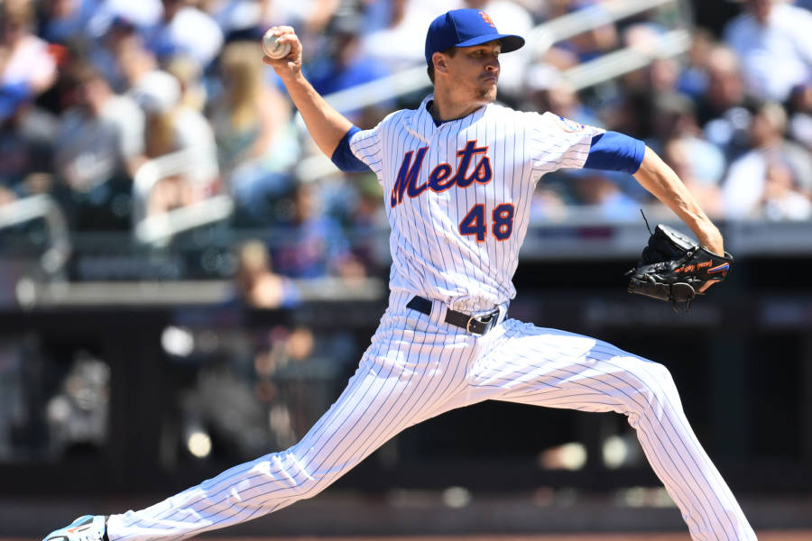 Jacob deGrom, New York Mets, Citi Field