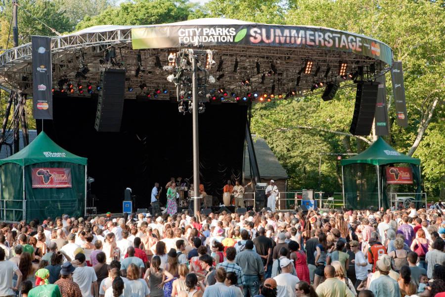 Rumsey Playfield SummerStage