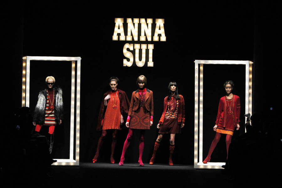 Anna Sui Show 2013