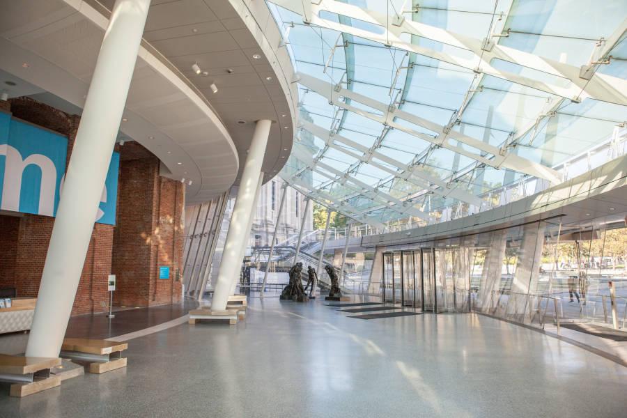 Interior del Museo Brook