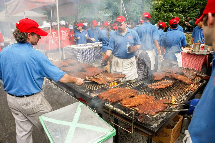Big Apple barbecue Block Party nyc