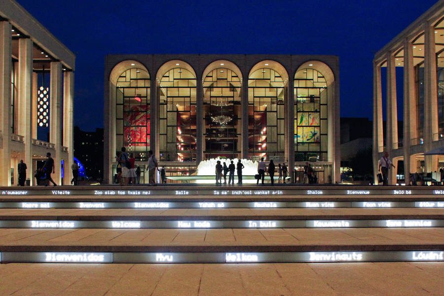 lincoln center in summer nyc