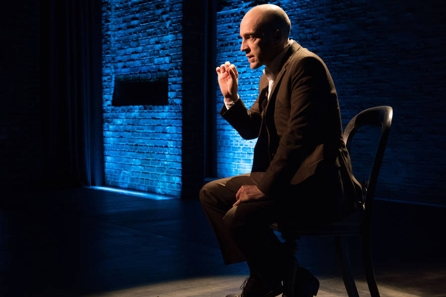 Derren Brown: Secret, production still