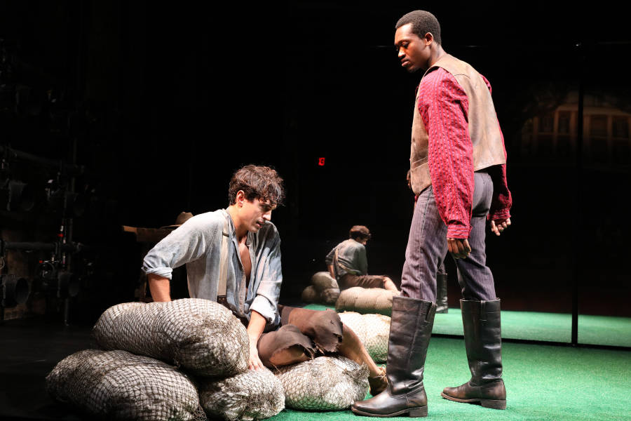 slave play, production still