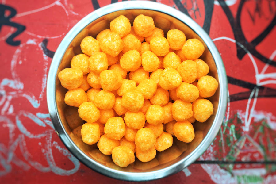 The Levee Cheese Balls