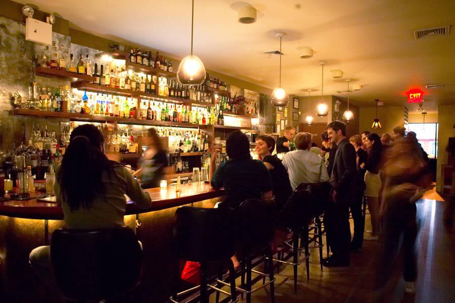 Huckleberry Bar interior