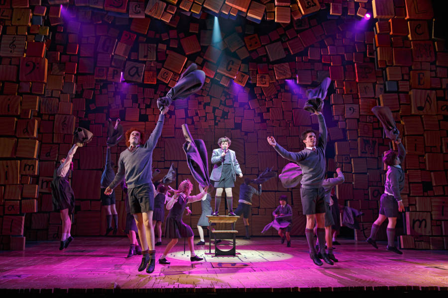 Matilda on Broadway