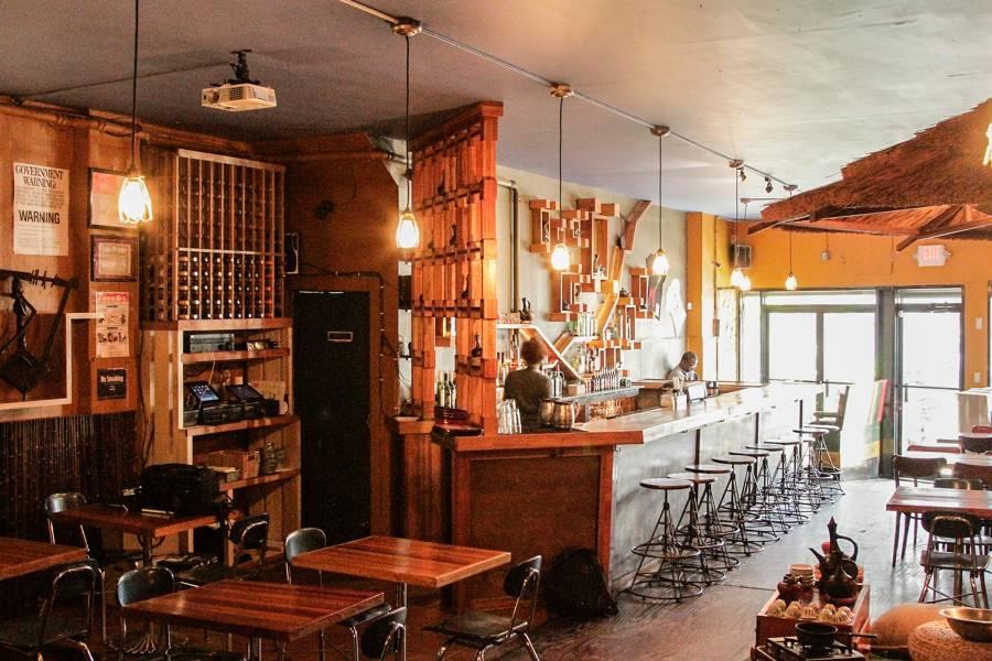 Bunna Cafe, interior