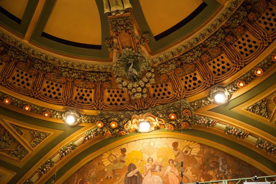 Interior of New Amsterdam Theater