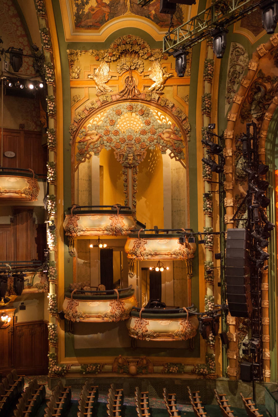 Interior of the New Amsterdam Theater