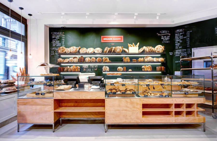 Breads Bakery interior