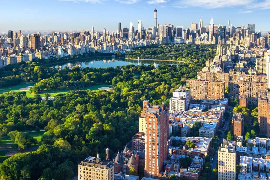 Central Park, Overhead