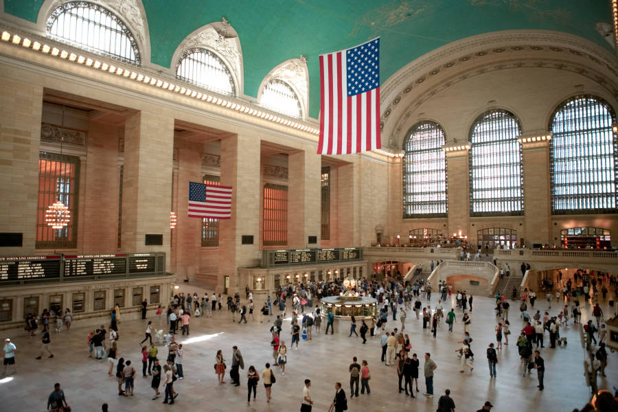 Grand Central main concourse.
