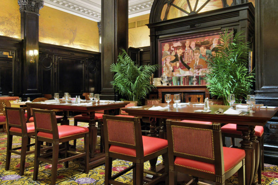 Algonquin Hotel Round Table Restaurant