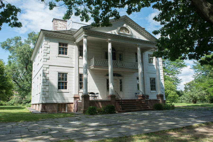Morris-Jumel Mansion.