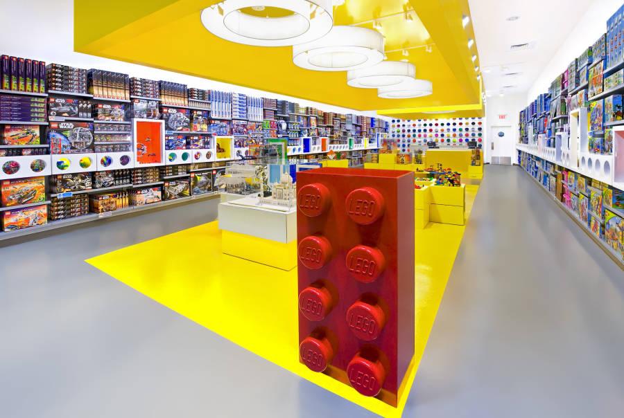 Lego Store, Rockefeller Center