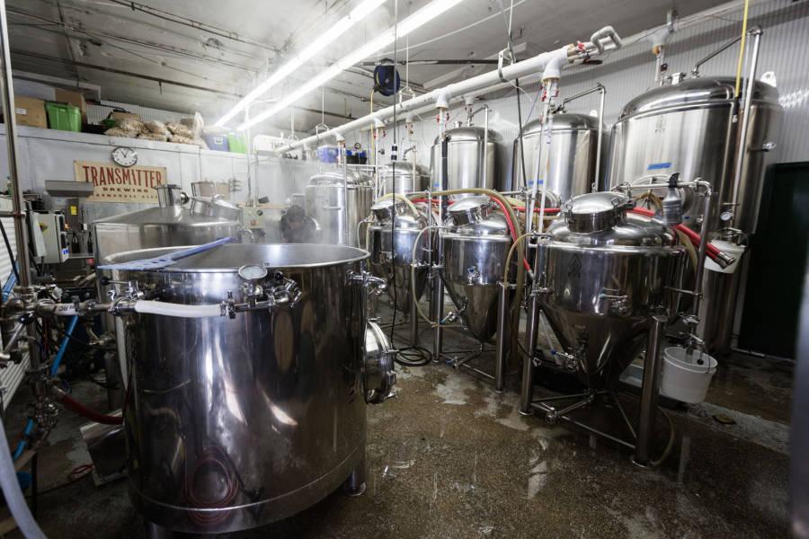 transmitter brewing, brewery