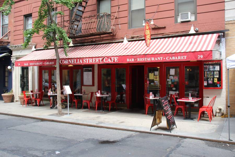 cornelia street cafe, exterior
