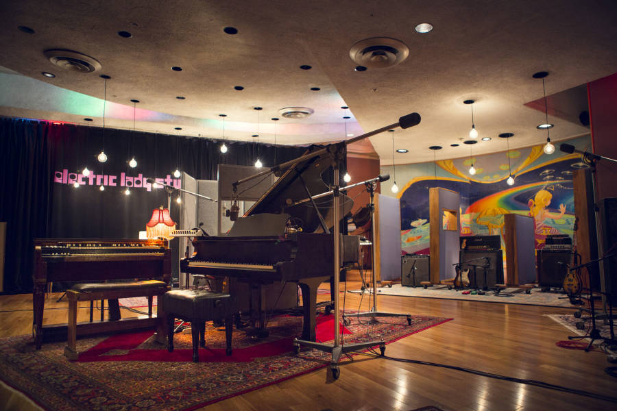 Electric lady studios, interior
