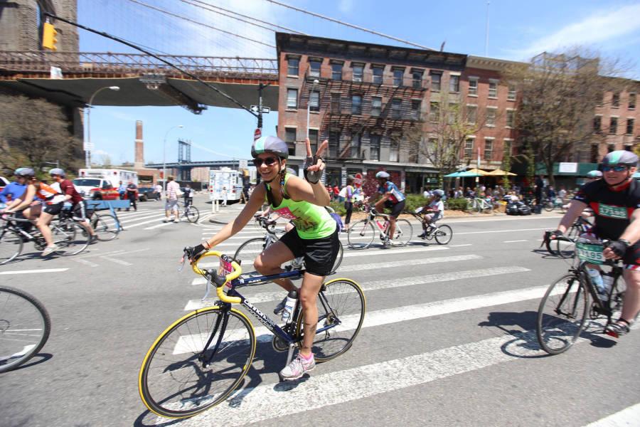 five borough bike tour,