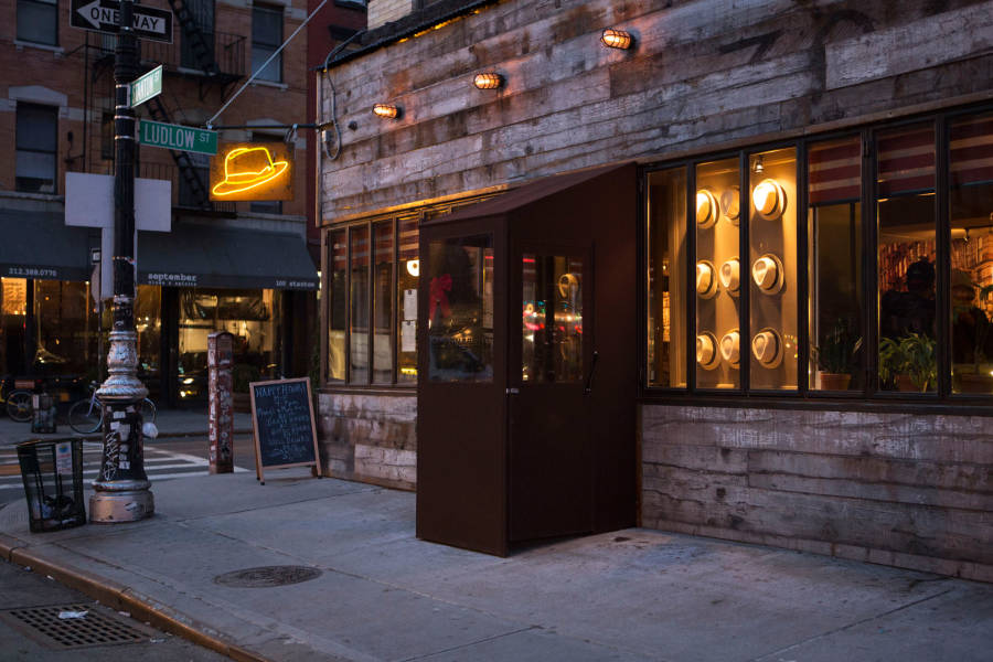 Affordable Mexican cuisine El Sombrero in the lower east side